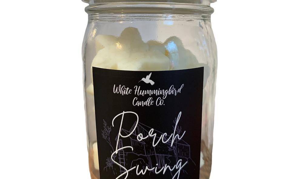 Snowflake Wax Melt Jar