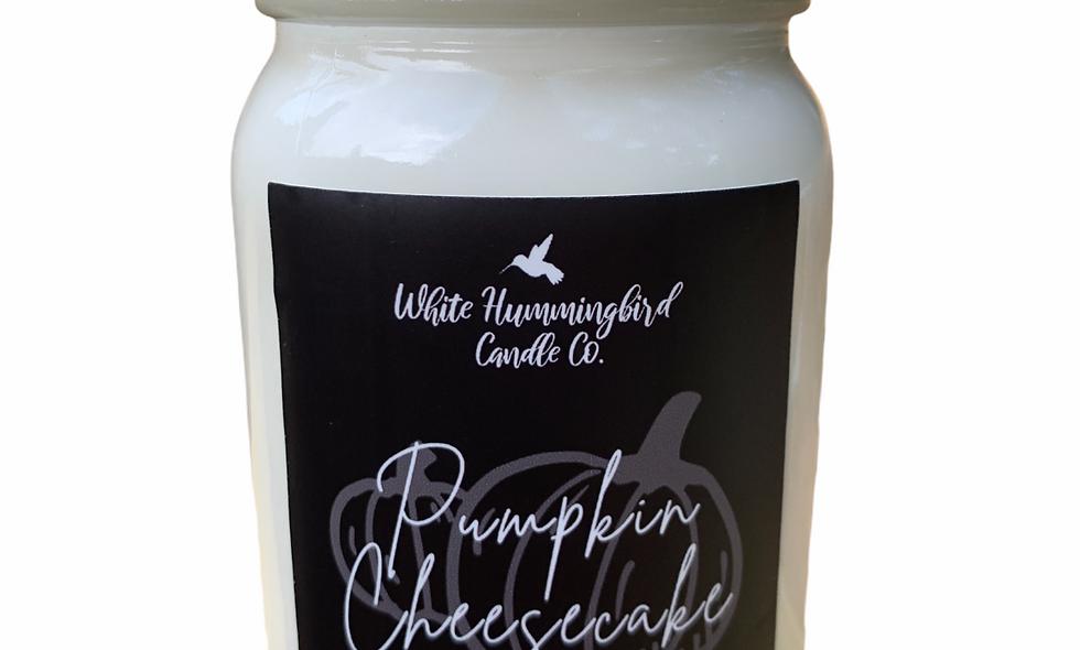 Pumpkin Cheesecake 16 oz. Farmhouse Jar