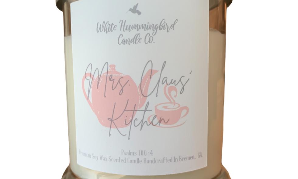Mrs. Claus' Kitchen 10 oz 2 Wick Jar