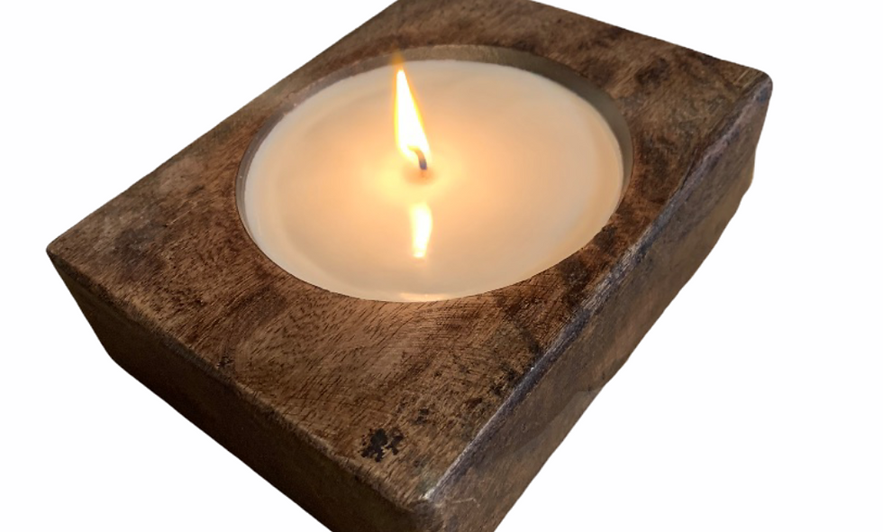 Cheese mold candle