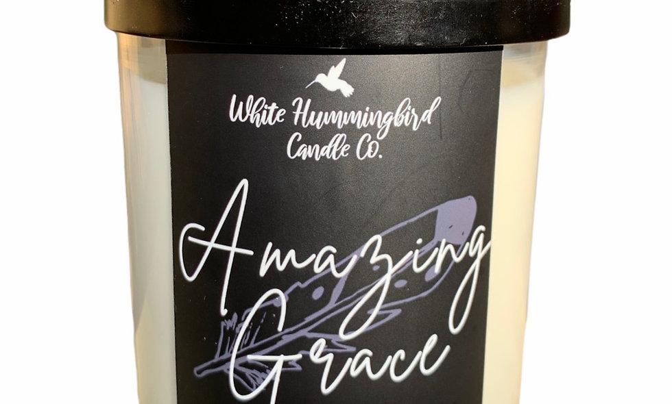 Amazing Grace 10 oz. 2 Wick Jar