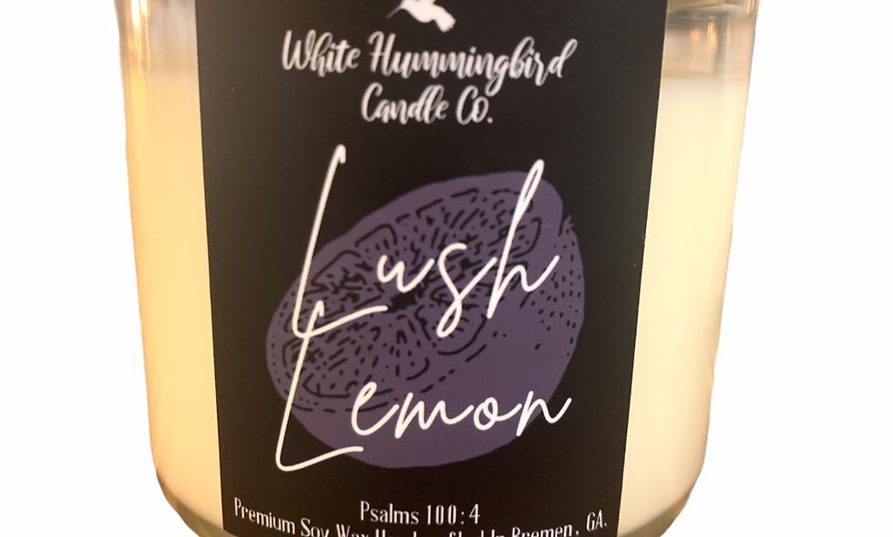 Lush Lemon 17 oz. 3 Wick Jar