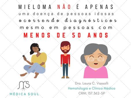 Mieloma Múltiplo não é apenas uma doença de idosos