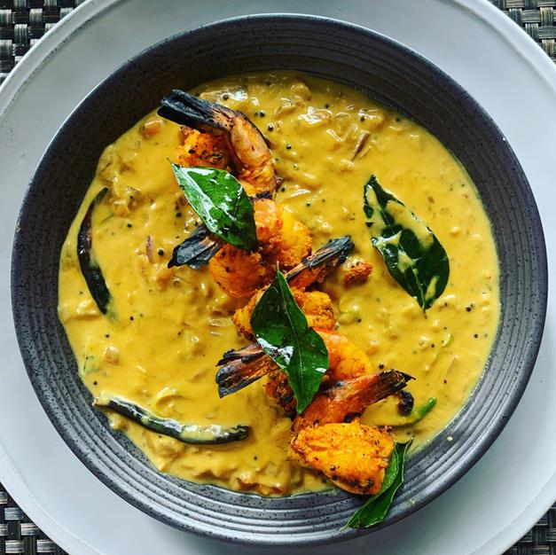 Allepy Prawn Curry