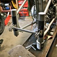 plunger rear suspension