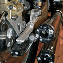 calliper mount & exhaust caps
