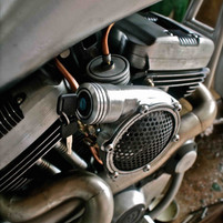 combined air filter ignition switch