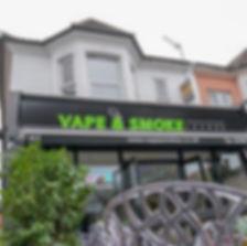 outside vape shop in southampton