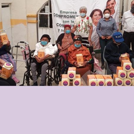 Donamos 100 proteínas SUNWARRIOR a adultos mayores