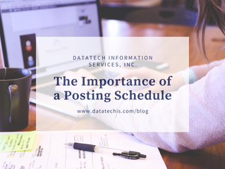 The Importance of a Posting Schedule