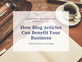 How Blog Articles Can Benefit Your Business