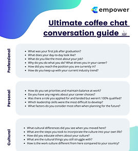 The ultimate coffee chat conversation gu