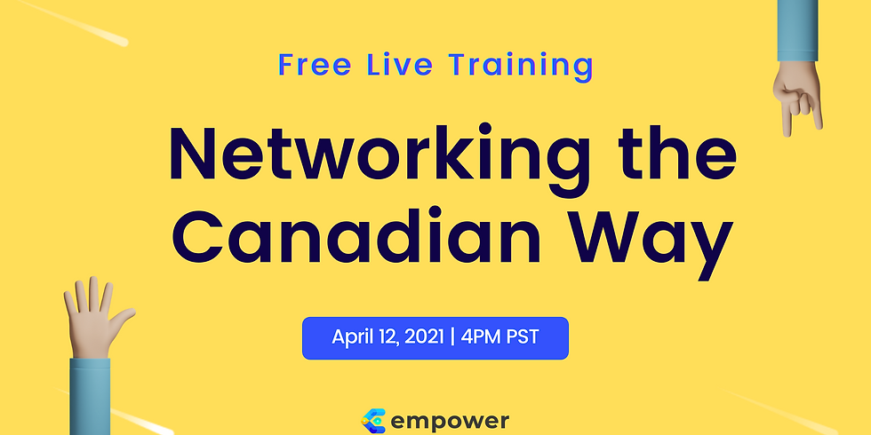Live Training: Networking the Canadian Way