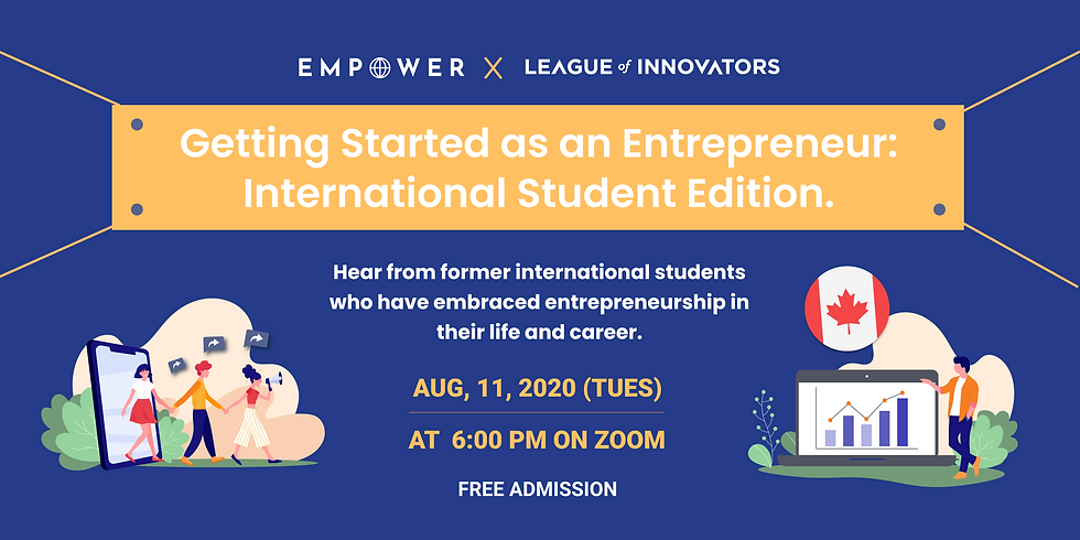 Getting Started as an Entrepreneur: International Student Edition