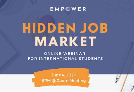 How International Students Can Navigate the Hidden Job Market