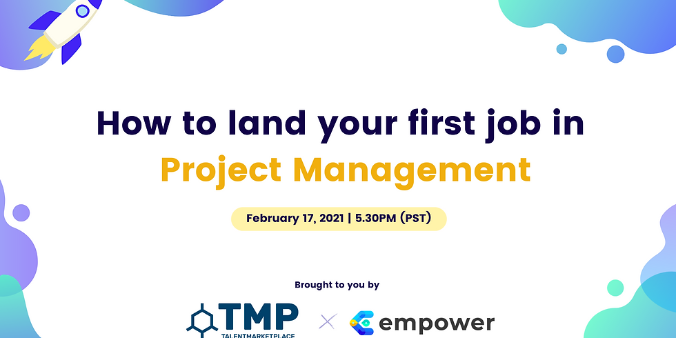 How to Land Your First Job in Project Management
