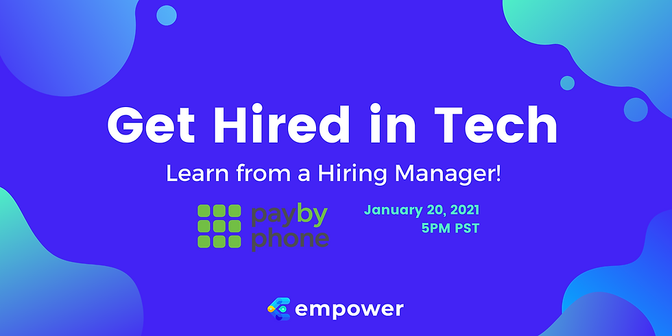 Getting Hired in Tech: Learn from a Hiring Manager