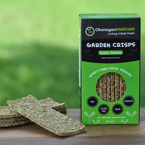 Garden Crisps, Super-Greens (2 x 145g sealed bags)