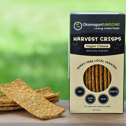 Vegan Cheeze Harvest Crisps, 145g