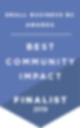 Awards 2018-19 - Finalist Banner - Commu