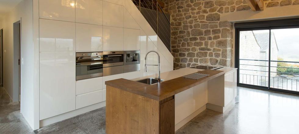 cuisine étage