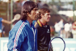 Illie Nastase and Craig Webster