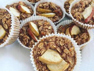 Äpple- och kanelmuffins