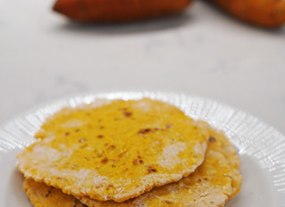 Glutenfria sötpotatistunnbröd