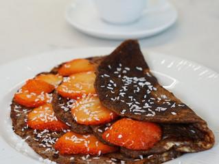 Chokladpannkakor