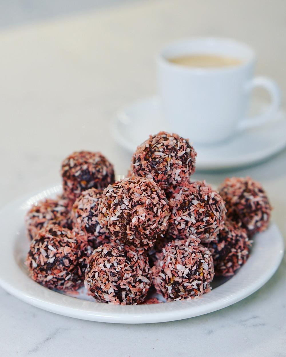 chokladbollar med nutella
