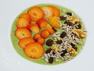 Proteinrik grön smoothie
