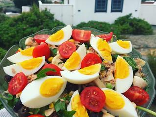 Tonfisksallad med ägg