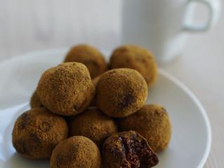 Choklad- och lakritsbollar