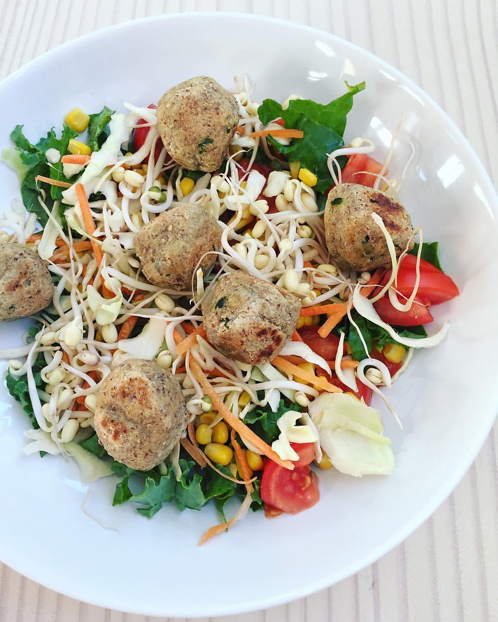 vegetariska mandelbullar