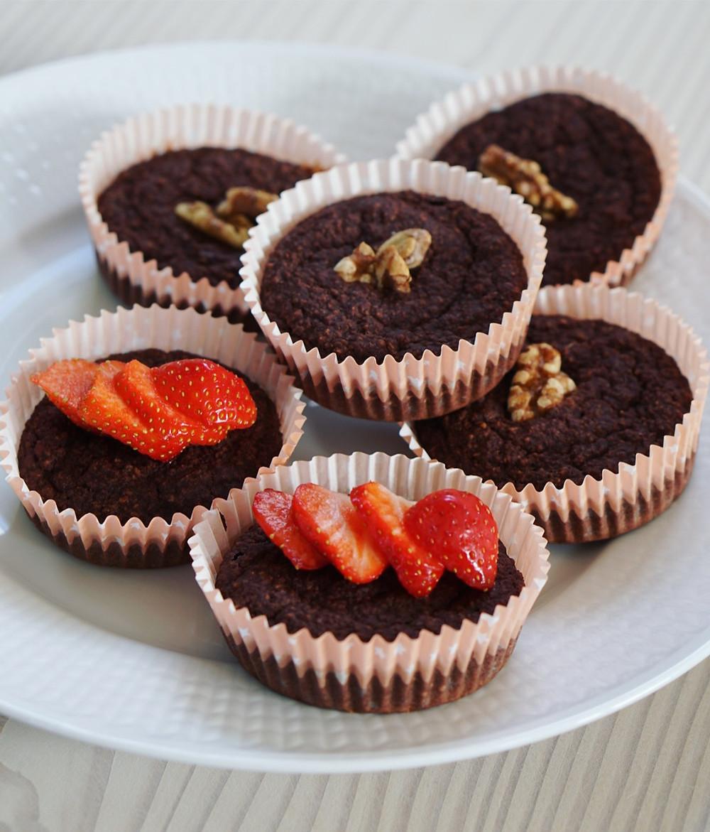 bananmuffins med choklad