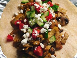 Vegansk tacowrap