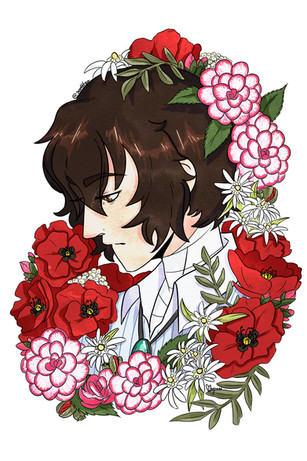 bron_dazai flowers.jpg