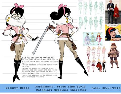 Bronwyn Moore_Batman Original Character.