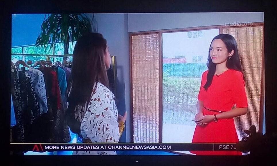 Interviewing fashion designer Priscilla Shunmugam
