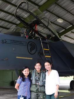 With Captain Nah Jinping