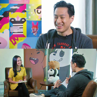 Interviewing animator Daniel Chong