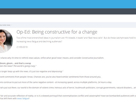 Being Constructive for a Change