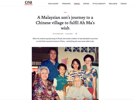 CNA Lifestyle: A Malaysian son's journey to a Chinese village to fulfil Ah Ma's wish