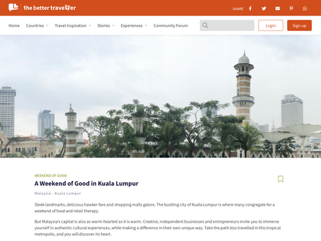Our Better World: A Weekend of Good in Kuala Lumpur