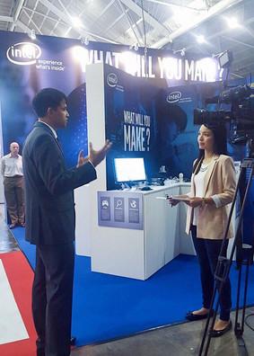 Interviewing Intel Southeast Asia's MD Prakash Mallya