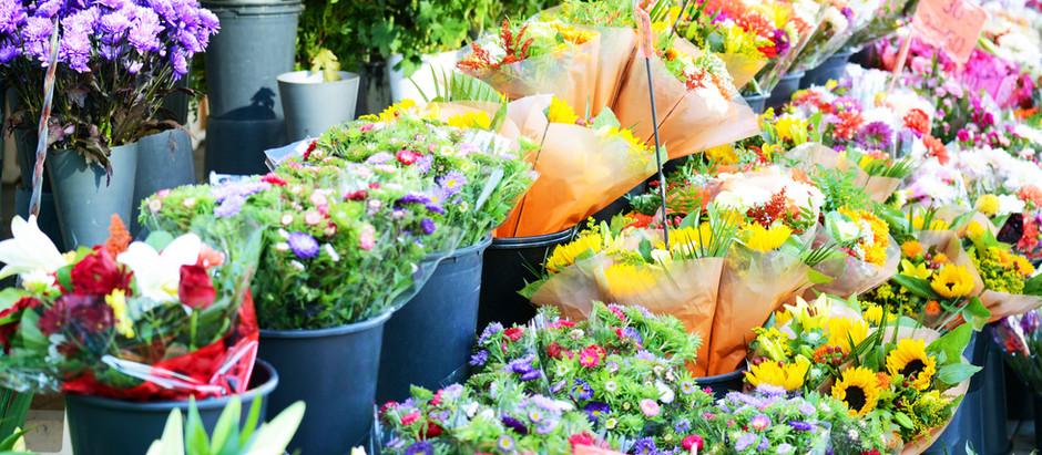 Blumenkalender - Hochzeitsfloristik