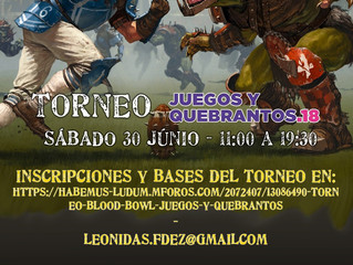 [J&Q18] Torneo Blood Bowl Juegos y Quebrantos