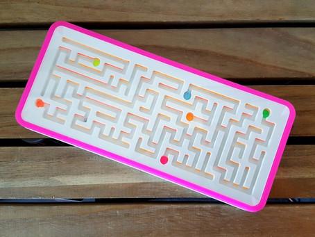 Corian Tilt Maze