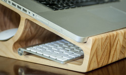 Gorgeous Laptop Stand By Warren Dowens