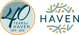 haven 40th anniversary logo - with haven